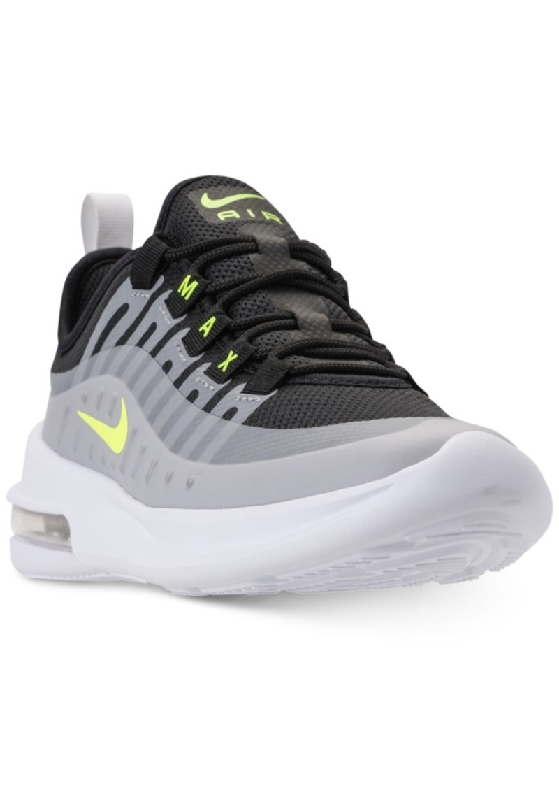 c04ea2210622 Nike Nike Boys  Air Max Axis Casual Running Sneakers from Finish ...