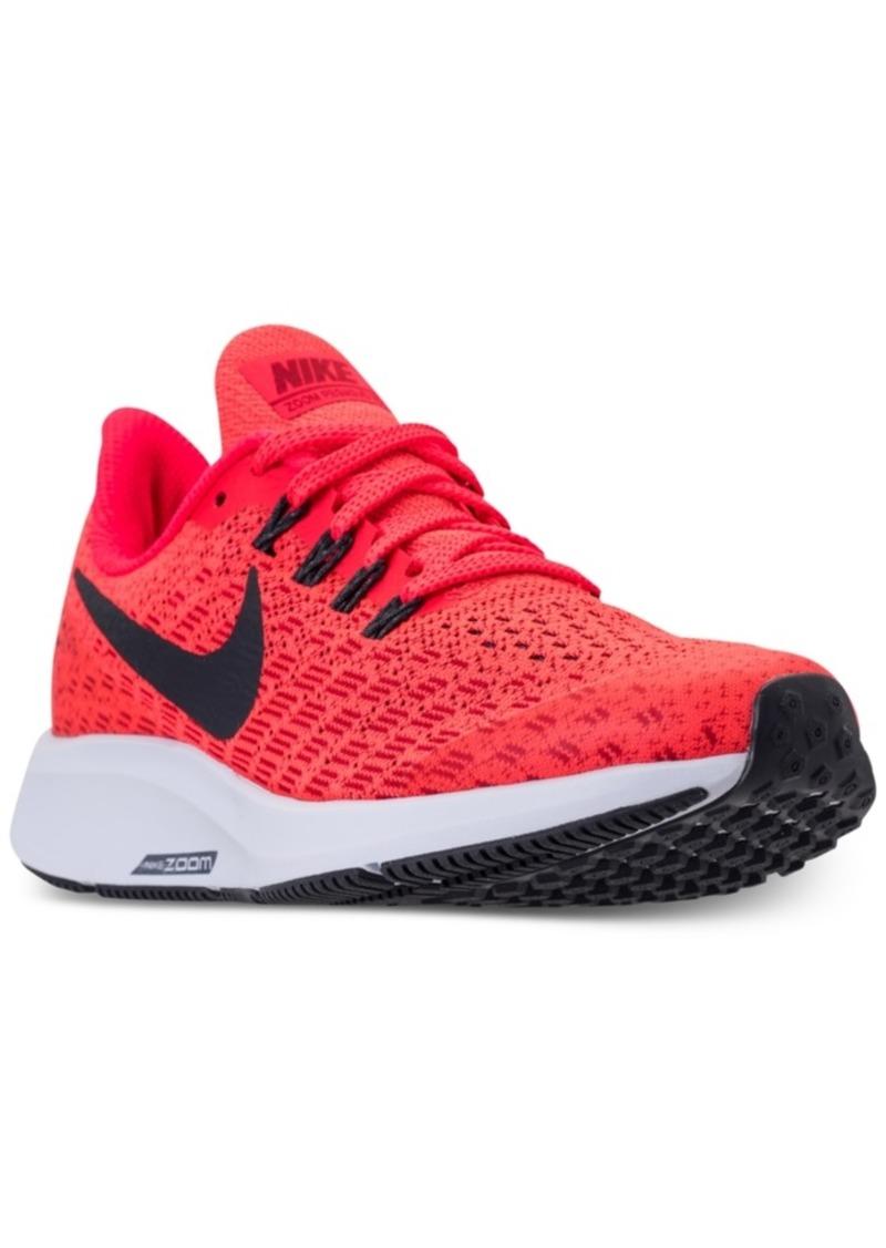 d86740866ec9a SALE! Nike Nike Boys  Air Zoom Pegasus 35 Running Sneakers from ...