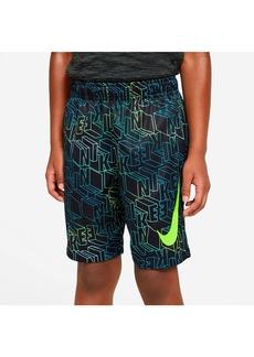 Nike Boys' Block Logo Dri-FIT Shorts - Little Kid