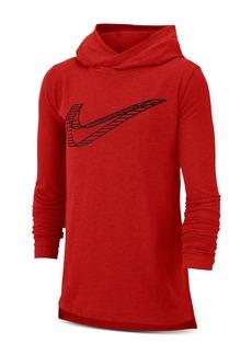 Nike Unisex Breathe Swoosh Hoodie - Big Kid