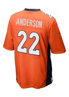 Nike C.j. Anderson Denver Broncos Game Jersey, Big Boys (8-20)