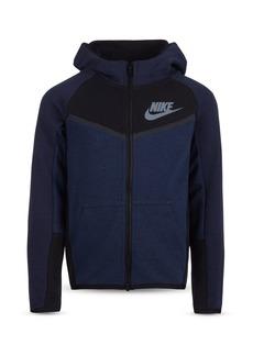 Nike Boys' Color Block Tech Fleece Zip Hoodie - Little Kid