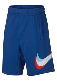 Nike Boy's Core Cotton Jersey Hybrid Shorts