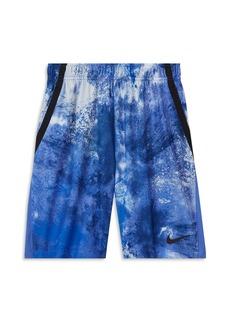 Nike Boys' Dri-FIT Splatter Dye Shorts - Big Kid