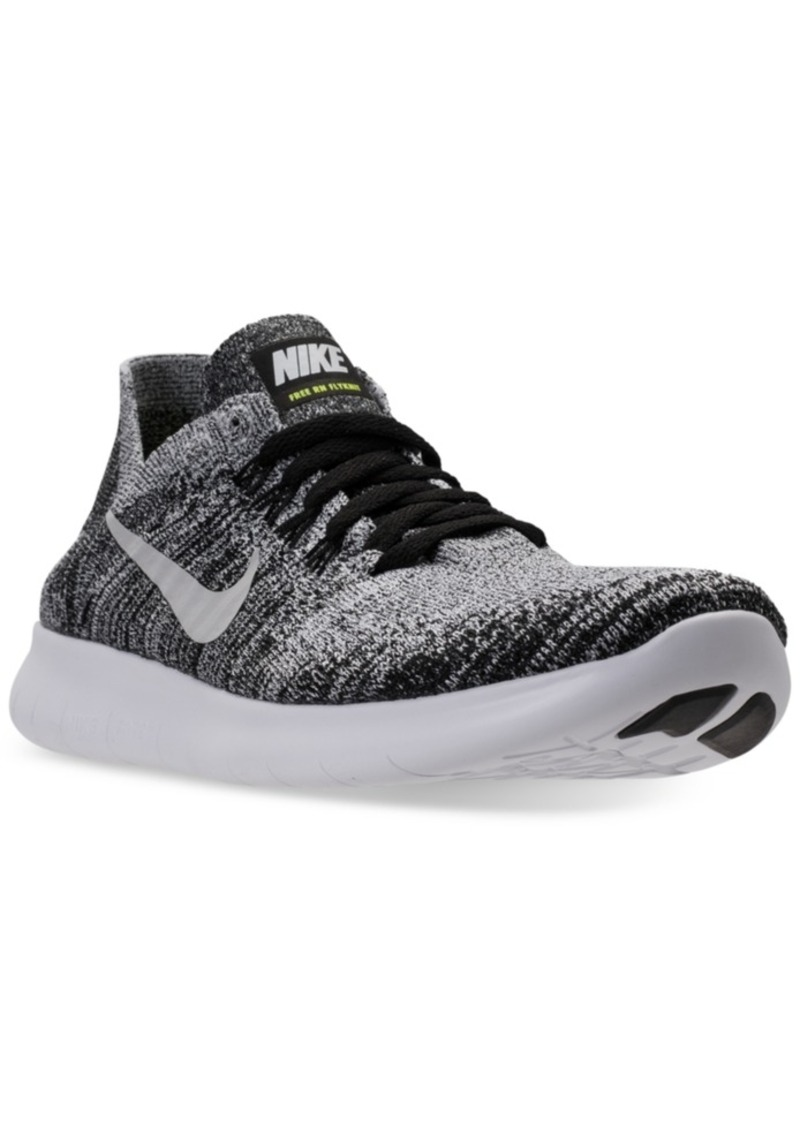 2c487688ff0f Big Boys  Free Run Flyknit 2017 Running Sneakers from Finish Line. Nike