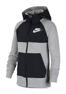 Nike Boys' Hybrid Color-Bock Hoodie - Big Kid