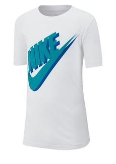 Nike Boy's Logo Cotton Tee