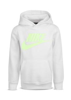 Nike Boys' Logo Lightweight Fleece Hoodie - Little Kid