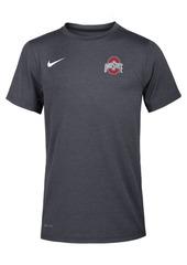 Nike Ohio State Buckeyes Dri-Fit Coach T-Shirt, Big Boys (8-20)