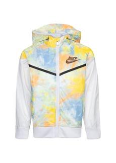 Nike Boys' Tie Dyed Windrunner Jacket - Little Kid