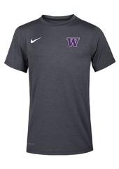 Nike Washington Huskies Dri-Fit Coach T-Shirt, Big Boys (8-20)