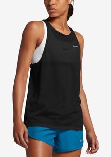 Nike Breathe Cutout Back Tank Top