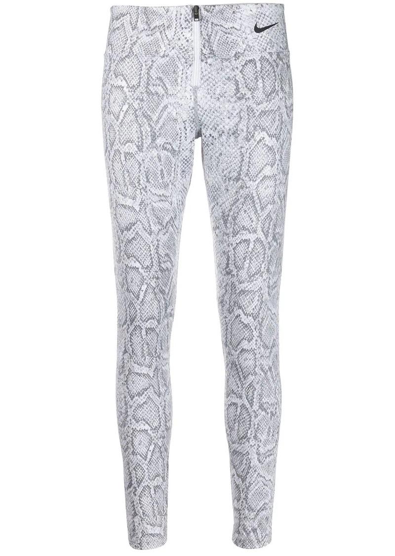 Nike snakeskin-print sportswear leggings