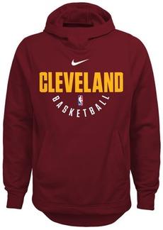 Nike Cleveland Cavaliers Elite Practice Hoodie, Big Boys (8-20)