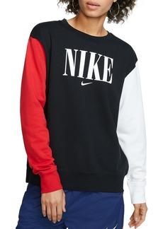 Nike Color-Block Logo Sweatshirt