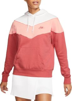 Nike Colorblock Cotton-Blend Hoodie