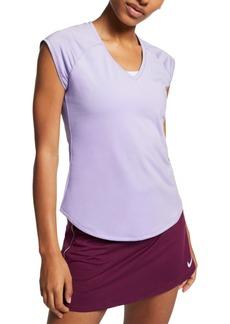 Nike Women's Court Pure Dri-fit Tennis Top