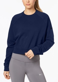 Nike Cropped French Terry Training Top
