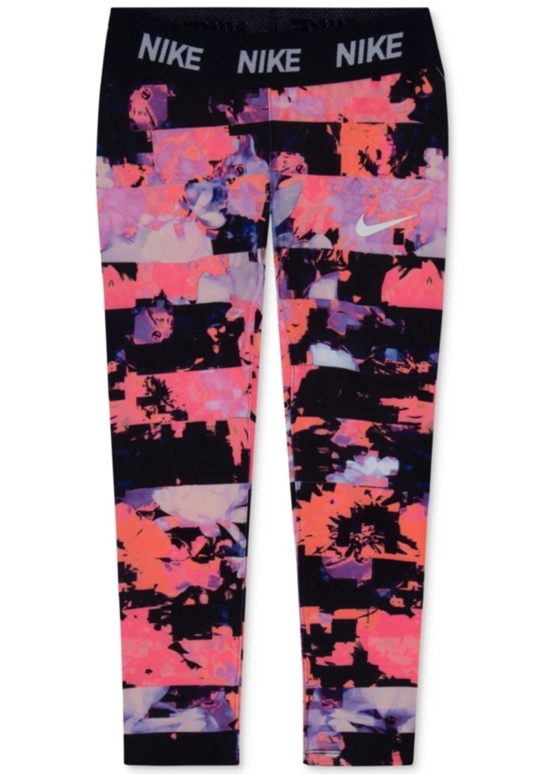 01b028a3c9a43 On Sale today! Nike Nike Dri-fit Floral-Print Leggings, Toddler Girls