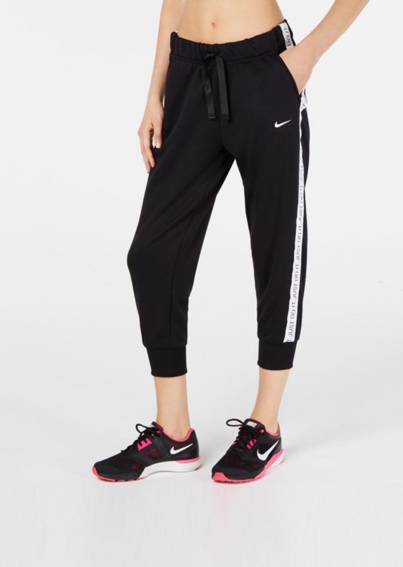 Nike Women's Dri-fit Get Fit Cropped Training Pants