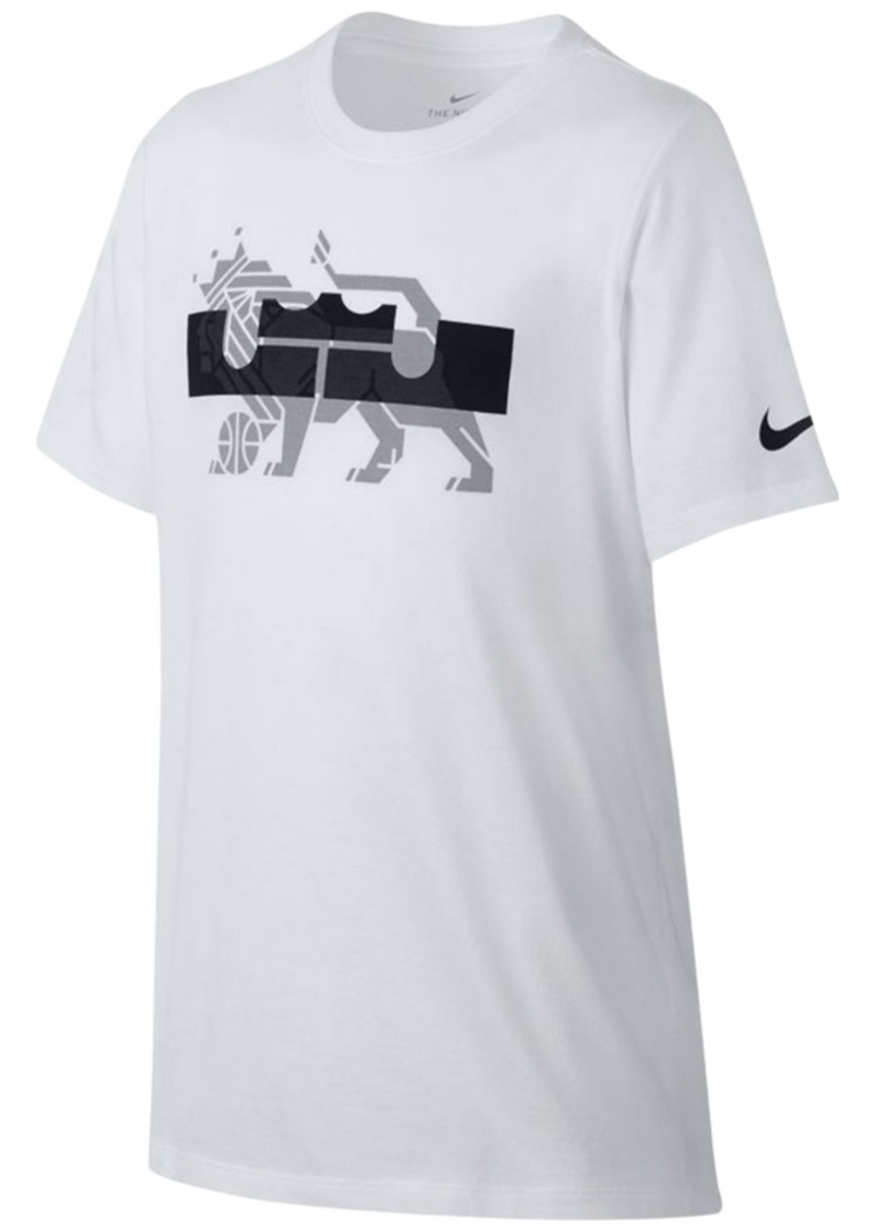 1e584193a95 Nike Nike Dri-fit LeBron James Graphic-Print T-Shirt
