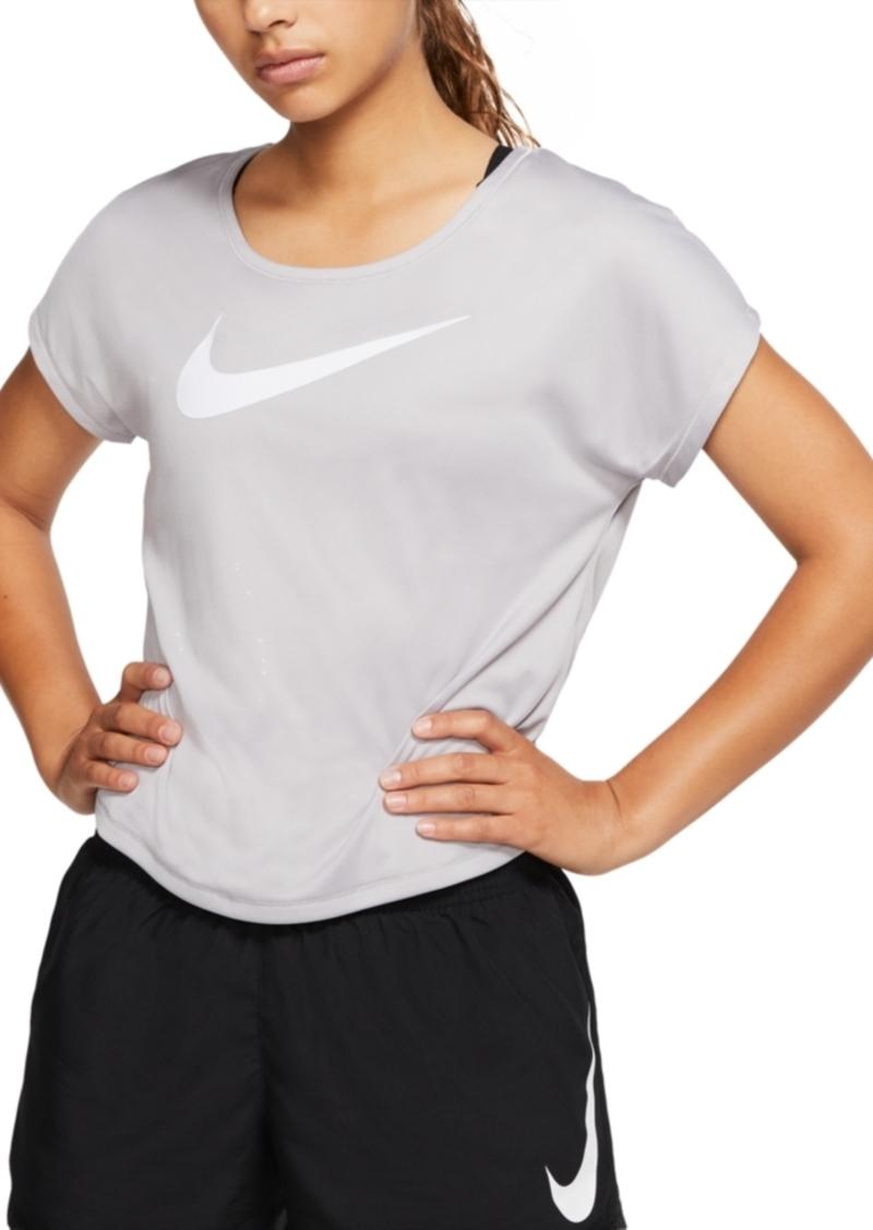 Nike Women's Dri-fit Logo Running Top