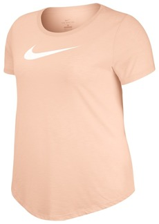 Nike Dri-fit Plus Size Logo Training Top