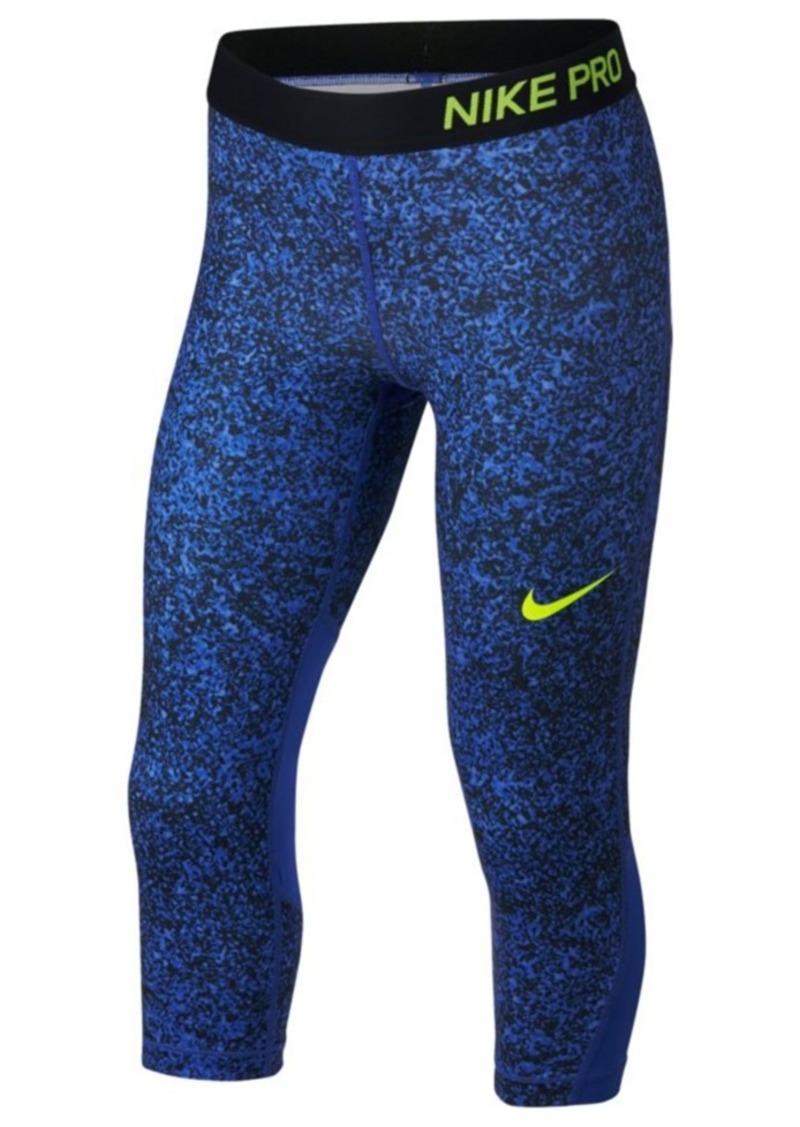 710aba882 Nike Nike Dri-fit Pro Printed Capri Leggings, Big Girls | Casual Pants