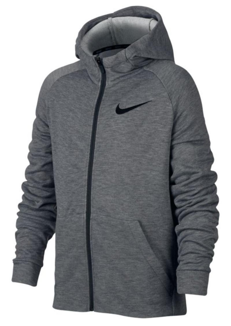 47698662bc269 Nike Nike Dri-fit Zip-Up Hoodie, Big Boys   Outerwear