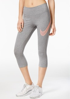 Nike Legend Dry Cotton-Blend Capri Training Leggings
