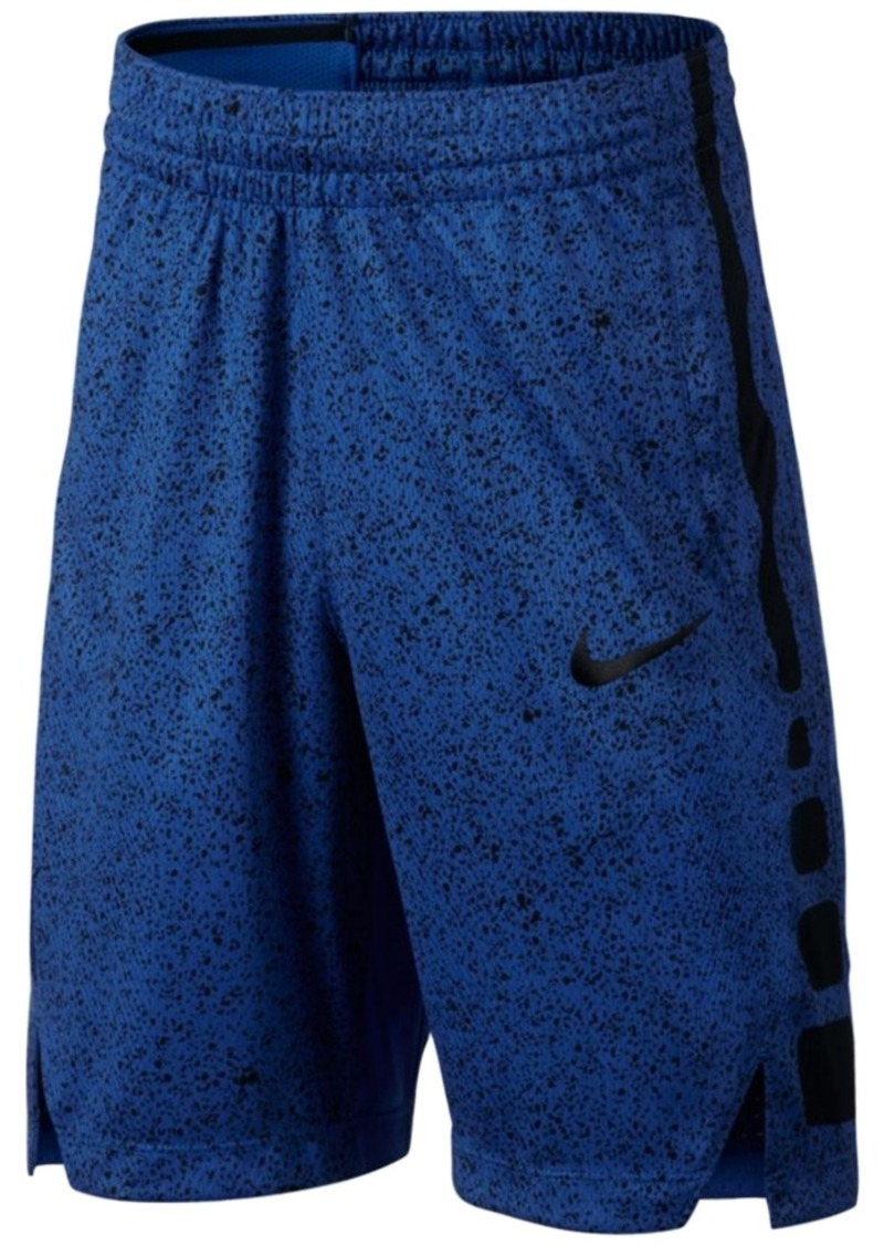 16cc7af116ee Nike Nike Dry-fit Elite Printed Basketball Shorts