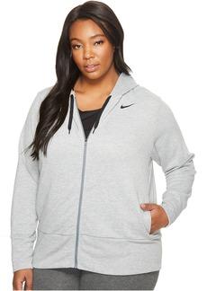 Nike Dry Full-Zip Training Hoodie (Size 1X-3X)