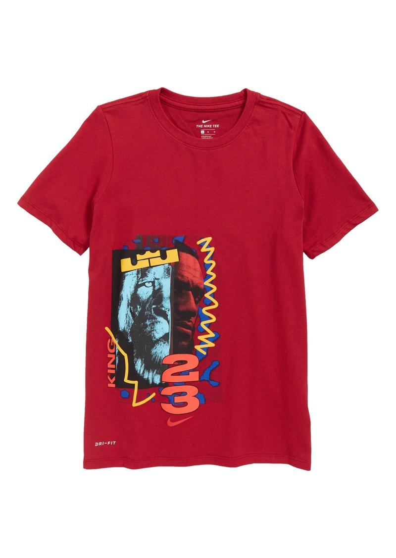 9bcd4a92 Nike Nike Dry LeBron James Graphic T-Shirt (Little Boys & Big Boys ...