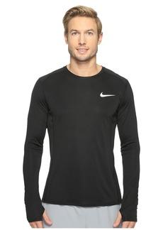 Nike Dry Miler Long Sleeve Running Top