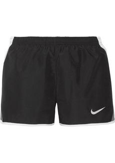 Nike Dry Tempo mesh-trimmed shell shorts