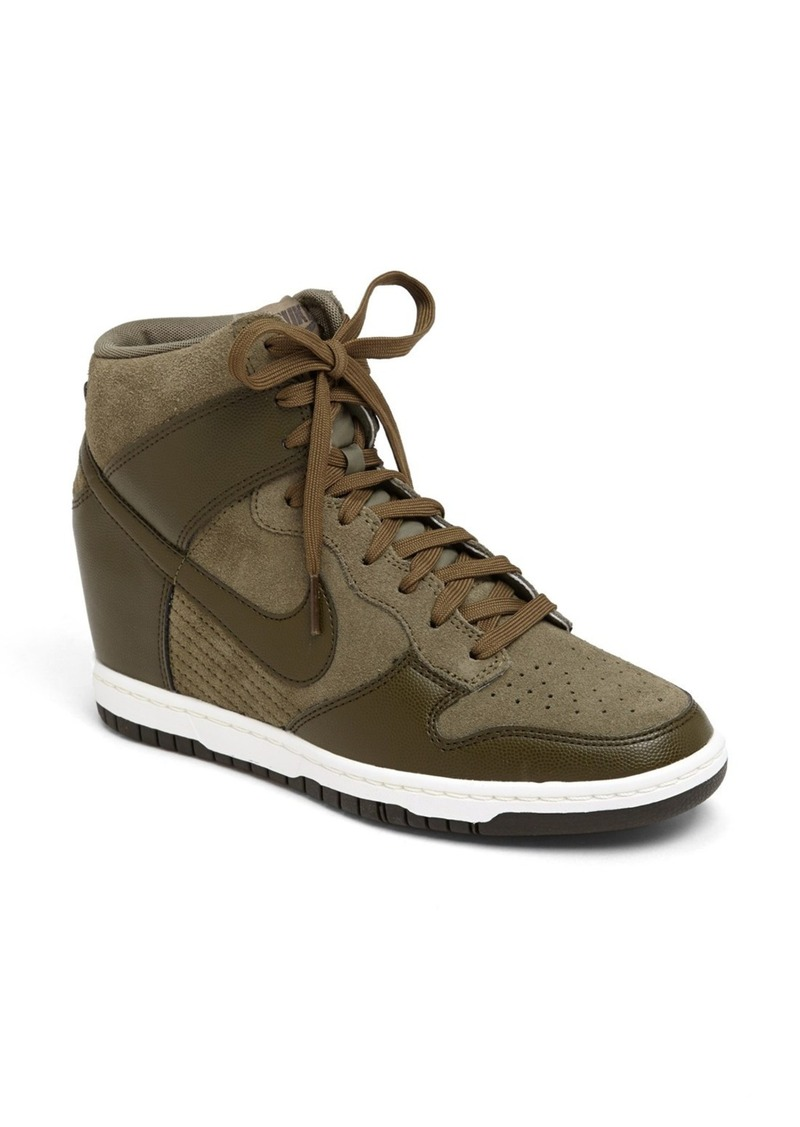 nike nike 39 dunk sky hi 39 wedge sneaker women shoes shop it to me. Black Bedroom Furniture Sets. Home Design Ideas