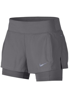 Nike Eclipse Dri-fit 2-In-1 Running Shorts