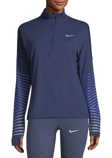 Nike Element Flash Half-Zip Pullover Performance Jacket