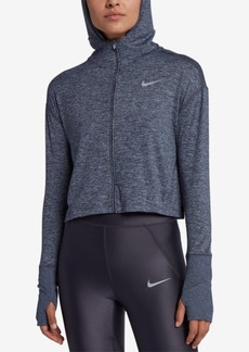Nike Element Zip Cropped Running Hoodie
