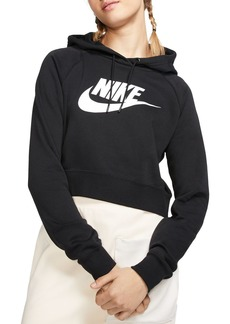 Nike Essential Cropped Hooded Sweatshirt
