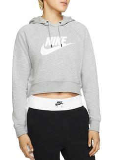 Nike Essential Cropped Hooded Sweatshirt