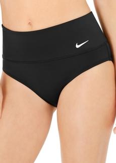 Nike Essential High-Waist Banded Bikini Bottoms Women's Swimsuit