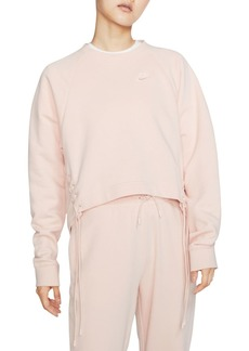 Nike Essential Lace-Up Sweatshirt