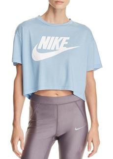 Nike Essential Logo Cropped Tee