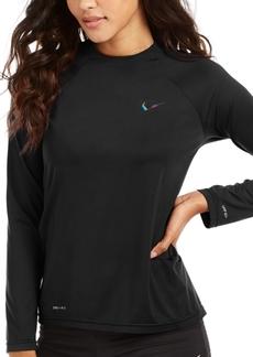 Nike Essential Long-Sleeve Rash Guard Women's Swimsuit