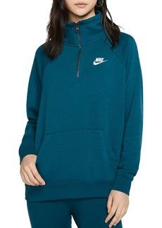 Nike Essential Quarter-Zip Fleece Sweatshirt