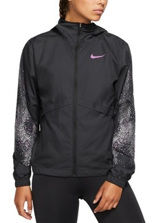 Nike Essential Water-Repellent Hooded Running Jacket