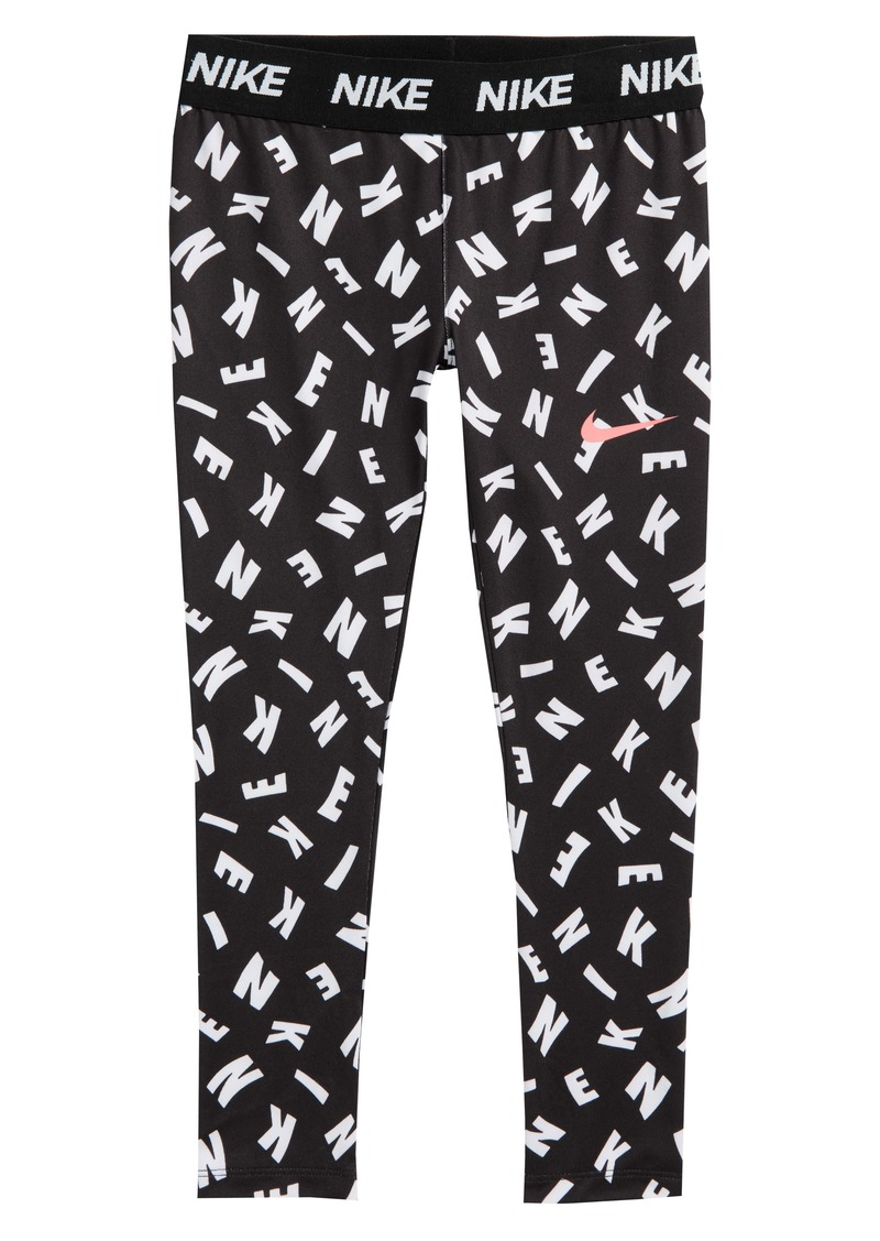 958dd43278086 Nike Nike Essentials Print Capri Legging (Toddler Girls and Little ...