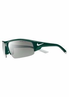 Nike Eyewear Men's Skylon Ace Xv EV0857-301 Rectangular Sunglasses  75 mm
