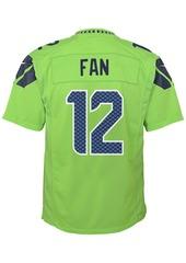 Nike Fan Seattle Seahawks Color Rush Jersey, Toddler Boys